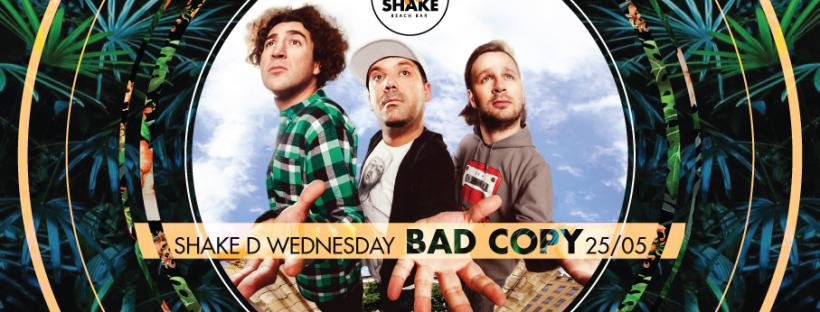 Nastup najboljeg hip hop sastava Bad Copy na splavu Shake 'n' Shake