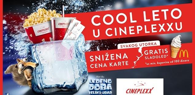 Cool leto u bioskopima Cineplexx grad
