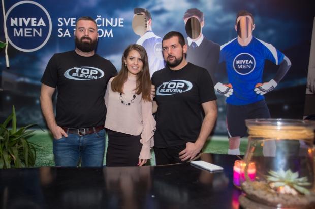 NIVEA MEN Top Eleven liga: Fanovi Top Eleven igrice sada imaju priliku da poboljšaju svoje performanse na terenu