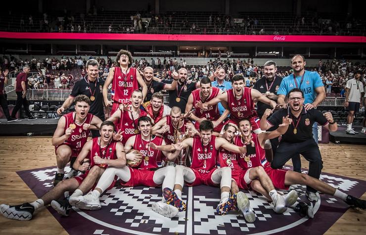 Juniorska reprezentacija Srbije postala je šampion Evrope!