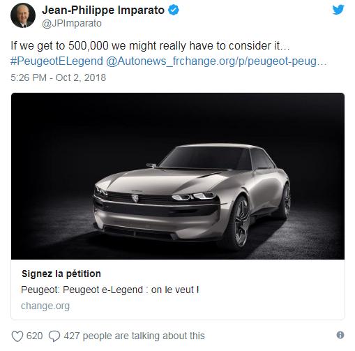 """E-Legenda je dobio svoj """"magični"""" broj, odlučio je Peugeot"""